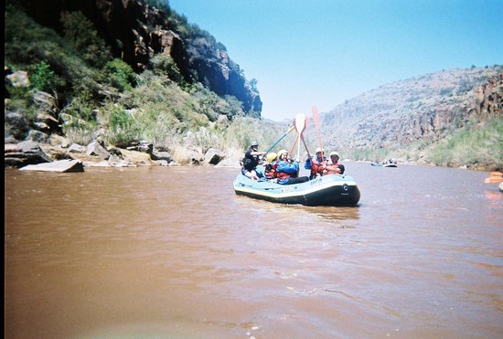 Arizona Rafting by Wilderness Aware: Paddle Five!