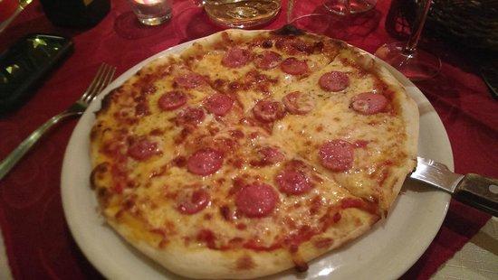Trattoria la Rosa dei Venti: 披萨