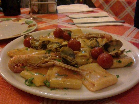 La Campagnola: Pacchero ai frutti di mare