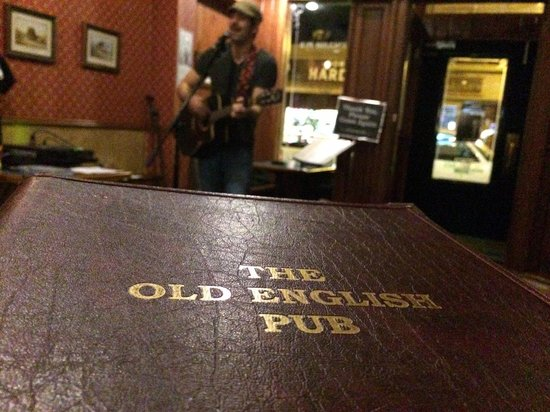 Old English Pub: Tons of live music - kudos to Darren for supporting original acts!