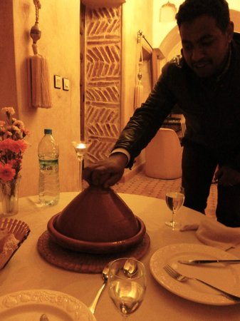 Riad Plein Sud : Homecooked meal with chef extraordinaire!
