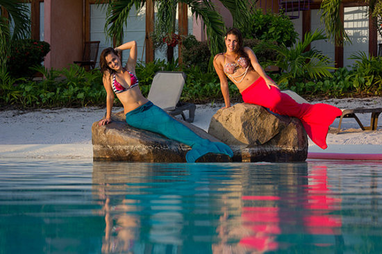 True Blue Bay Boutique Resort: Activities Mermaid Swiming