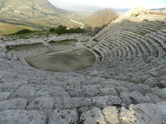 Tempio di Segesta : teatro e vista