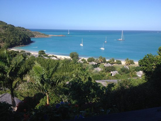 Hermitage Bay : view from hillside suite