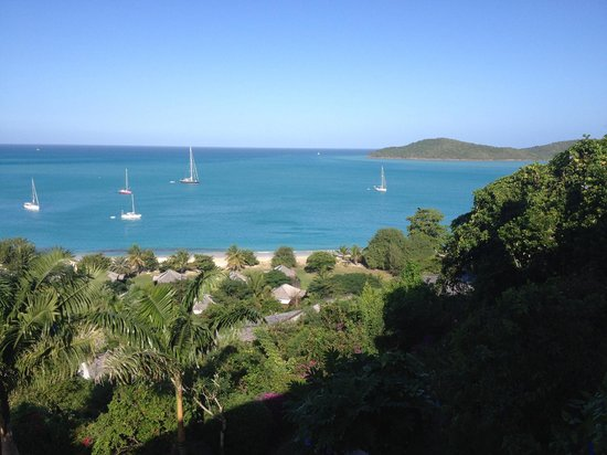 Hermitage Bay : view from suite
