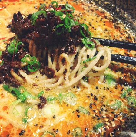Shikiji: Chili goma ramen, my kryptonite.