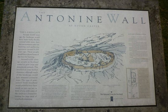 Antonine Roman Wall: The panel