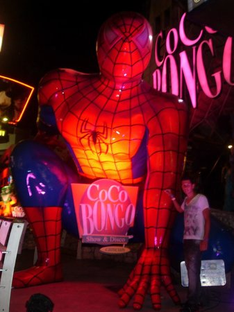 Coco Bongo Cancún: Lado de Fora