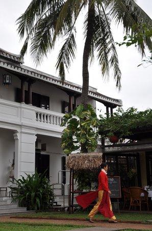 Ha An Hotel: Lovely Yard