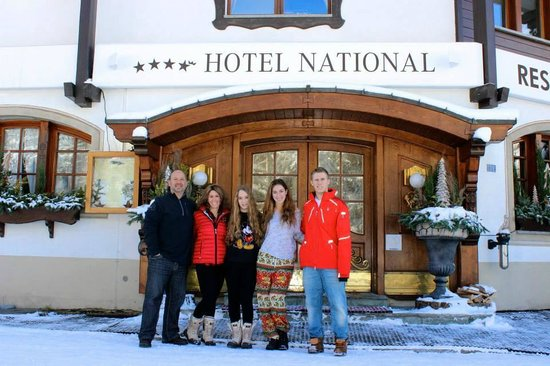 Hotel National Zermatt: Great Hotel in Zermatt