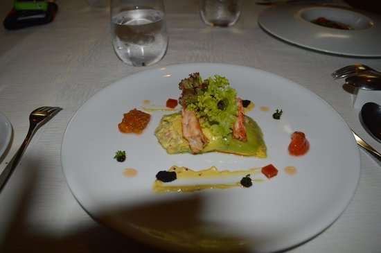 Passion by Martin Berasategui at Paradisus Palma Real: my salad