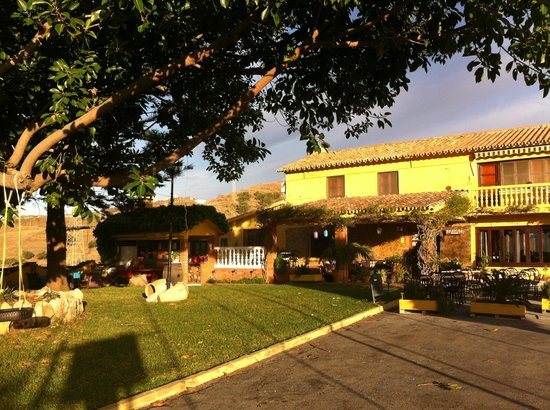 Hotel Rural Cortijo Amaya : the Cortijo and bar