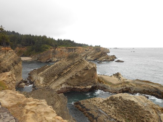 Shore Acres State Park: ocean view