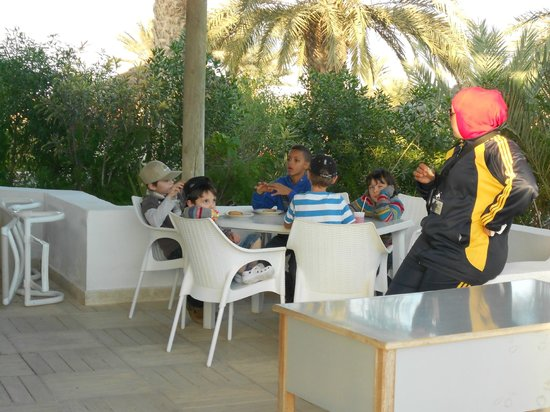 Seabel Rym Beach : le gouter au mini club
