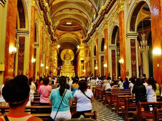 Cathedral of Salta: Inside the cathedral
