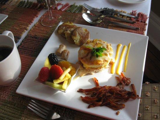 Historic Davy House B&B Inn: Outstanding breakfast