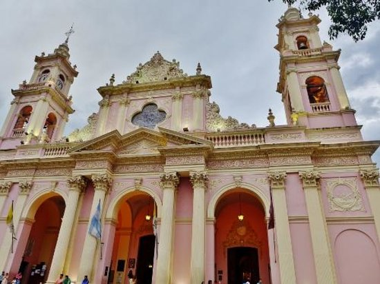 Cathedral of Salta: Street view