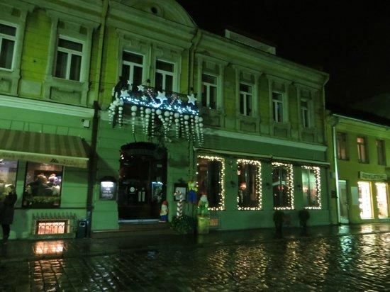 Laisves aleja (Liberty Boulevard) : завершение рождественских каникул