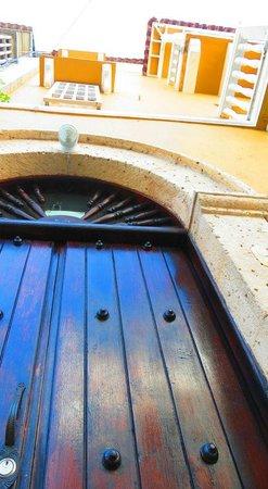 Los Balcones de Badillo Hotel : entrada