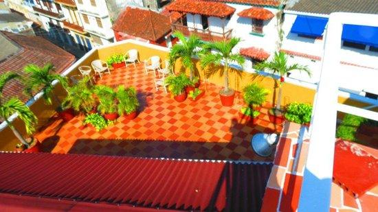 Los Balcones de Badillo Hotel : terraza