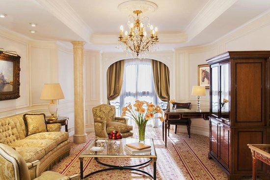 Alvear Palace Hotel : Presidential Suite living area
