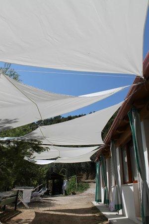 Rifugio Petina: ...le tende