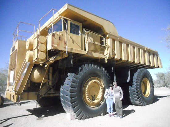 Asarco Mineral Discovery Center: Copper Ore Hauling Truck