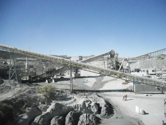 Asarco Mineral Discovery Center: Conveyors for Rock Crushing Operations