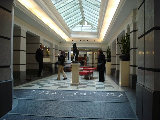 Aria Hotel Prague by Library Hotel Collection: Aria Hotel entrance