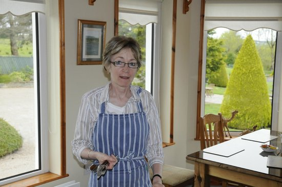 The Arches Country House : Noreen, the perfect hostess!