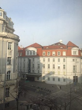 Hotel Am Konzerthaus Vienna MGallery by Sofitel: вид из окна