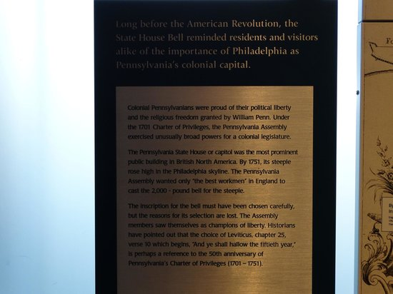 Independence National Historical Park : History of the Liberty Bell