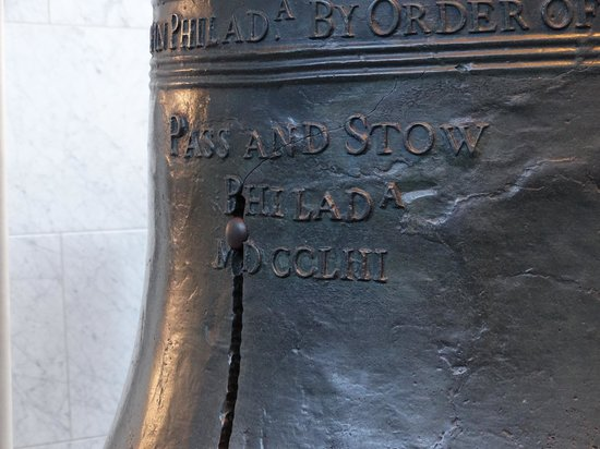 Independence National Historical Park: Close up of the Liberty Bell