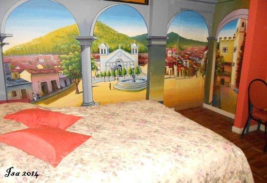 Cruz de los Andes: My bedroom (205)