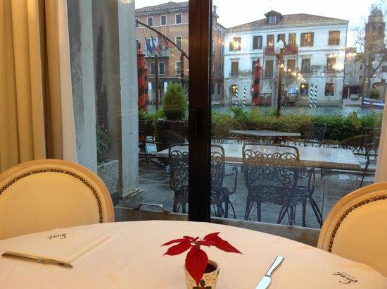 Hotel Principe : vista da sala do café