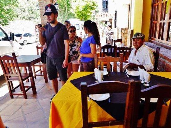Parrilla El Criollo: In the restaurant