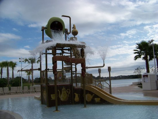 Disney's Grand Floridian Resort & Spa: Splash area
