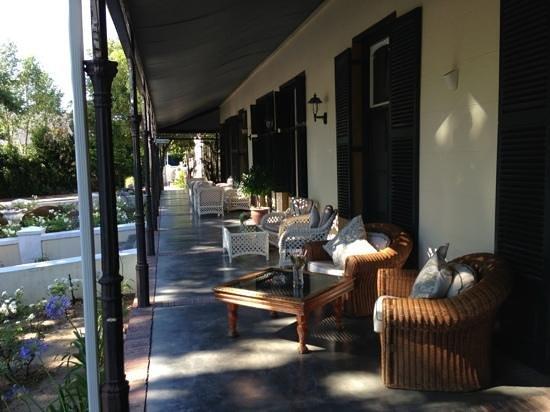 Pontac Manor Hotel: december 2013