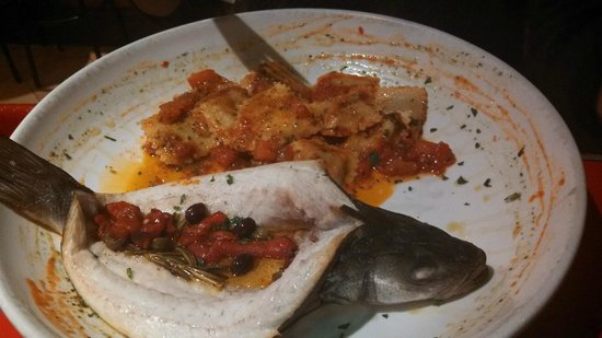 Geppetto: Branzino (sea bass)