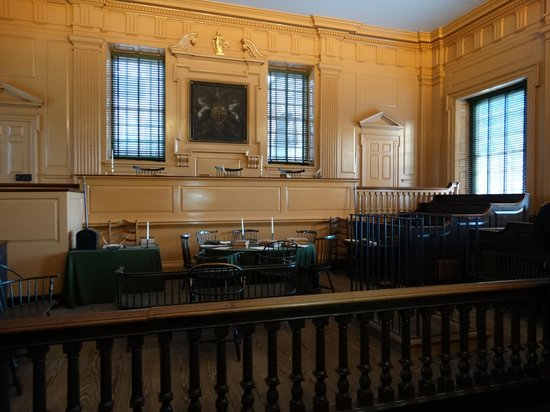 Independence Hall : Courtroom