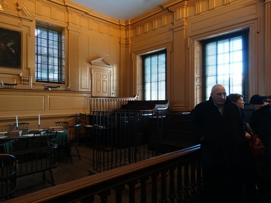 Independence Hall: Courtroom