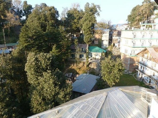 Hotel Dalhousie Heights: view from balcony