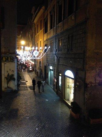 Hotel Abruzzi: Vista do quarto