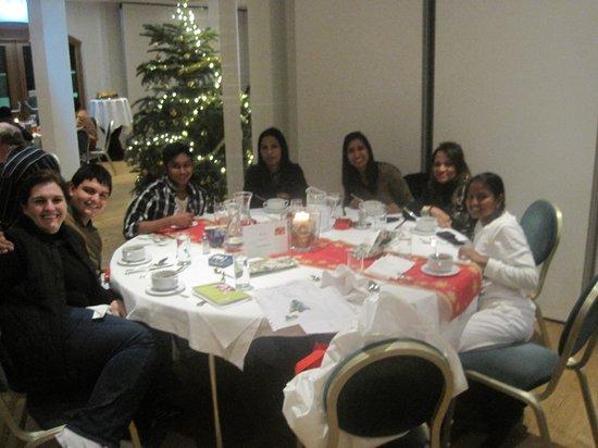Alphotel Innsbruck : dinner in their resturant