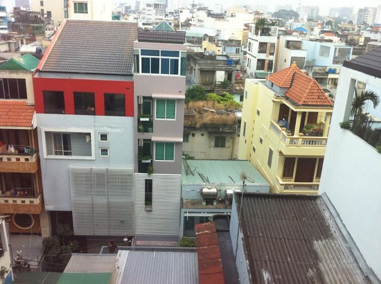 Ramana Hotel Saigon : view from the window