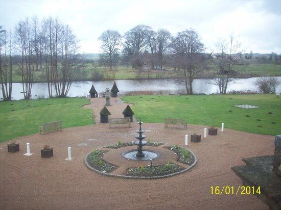 Chilston Park Hotel: Our view