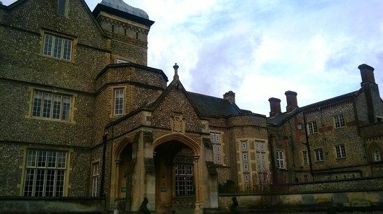 De Vere Horsley Estate: coté salles de réception dans la partie manoir