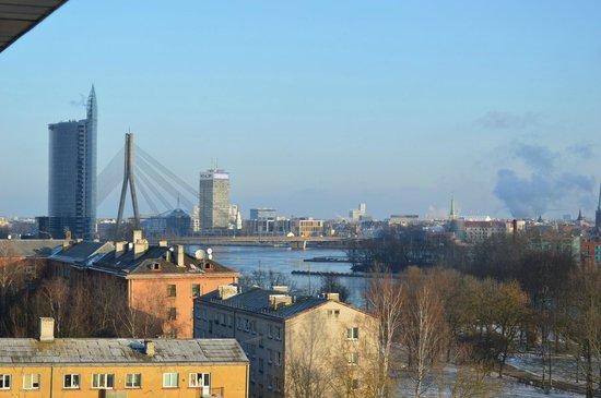 Bellevue  Park Hotel Riga: Utsikt mot Gamla stan
