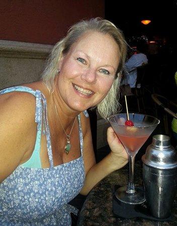 Blue Martini - Fort Lauderdale: God drink i shaker