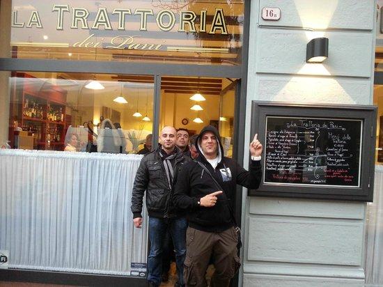 La Trattoria dei Pani: C'est ici et c'est super!!